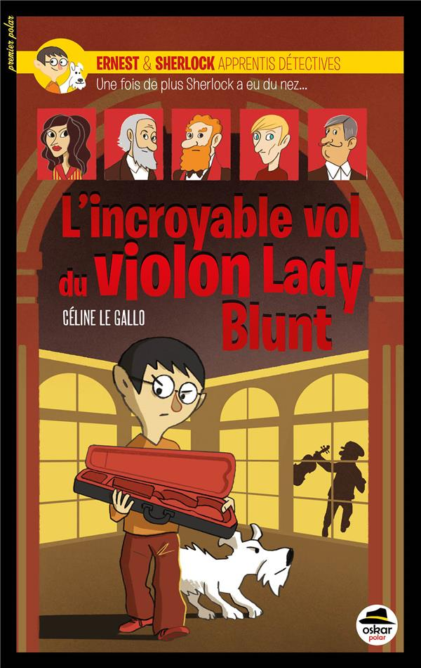 L' INCROYABLE VOL DU VIOLON LADY BLUNT